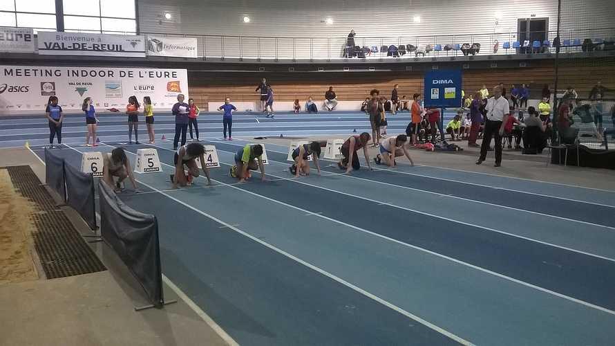ATHLETISME – 32ème Nationaux Indoor au Val de Reuil 0