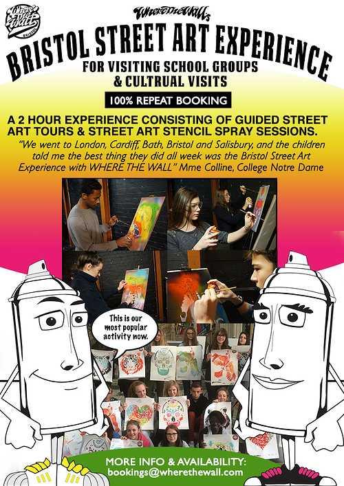 Séjour au Royaume Uni schools-street-art-experience-leaflet-web