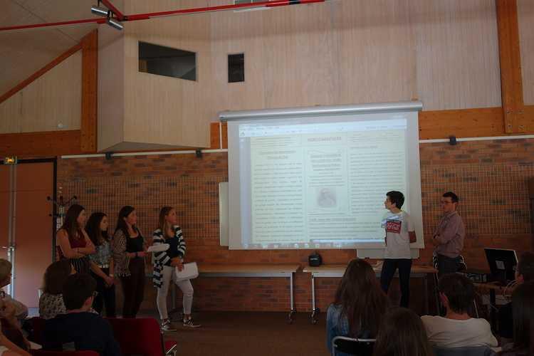 Les élèves de 1ES et 2nde section européenne anglais aux Archives Départementales 0