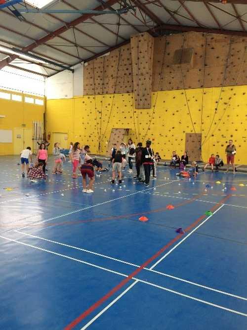 Rencontre sportive des écoles à St Charles 0