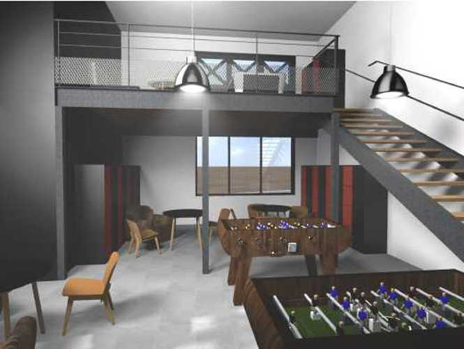 Maison des lycéens (4) mdl-vue3d-b1