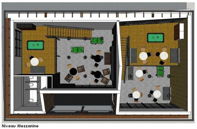 Maison des lycéens mdl-vue3d-a1