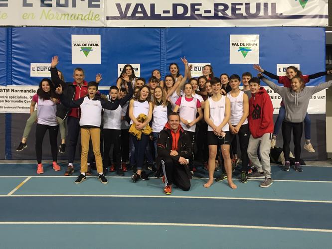Nationaux Indoor Athlétisme - Val de Reuil 0
