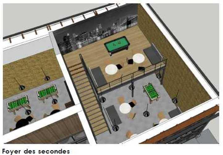 Maison des lycéens mdl-vue3d-a4