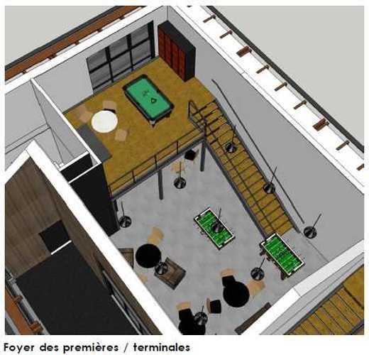 Maison des lycéens mdl-vue3d-a2
