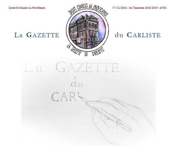 La Gazette du carliste 0