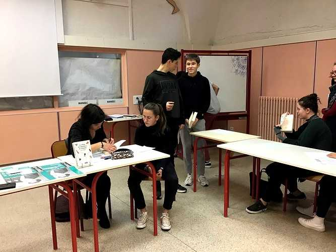 Rencontre avec Laure Deslandes, romancière img0687