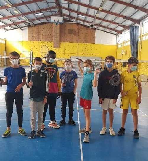 Compétition Badminton - Lycée Saint-Charles 0